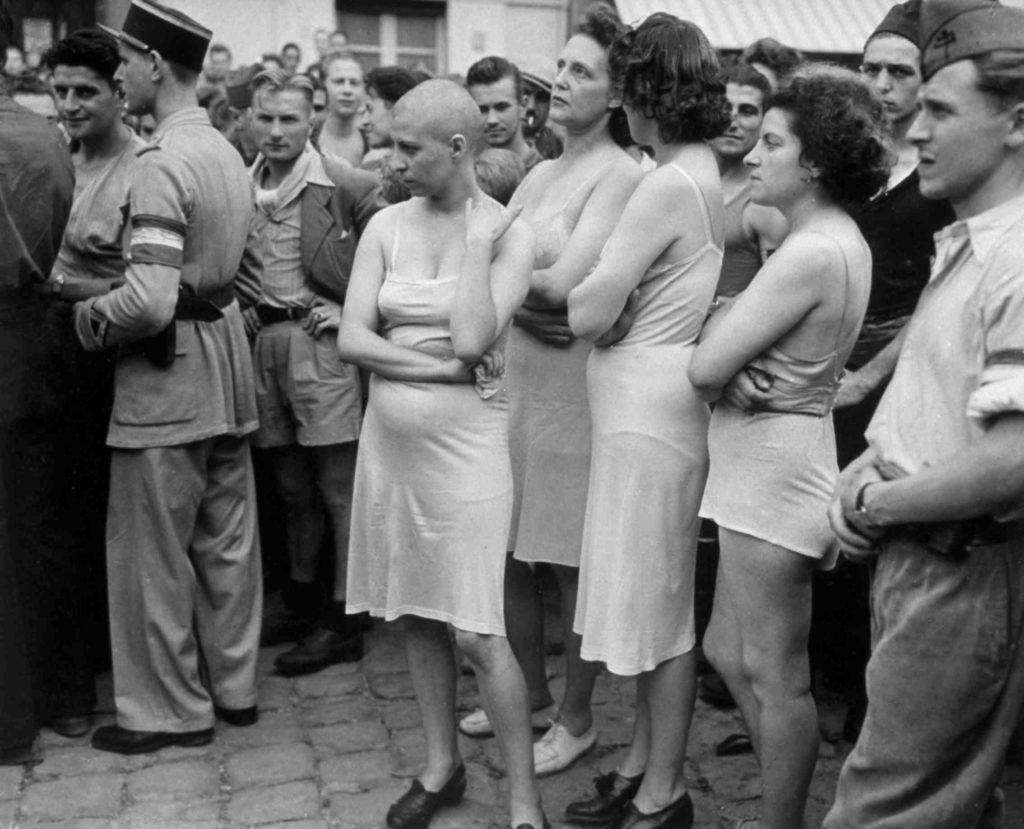 Pictures of nazi collaborator girls in world war ii one news box nude picture